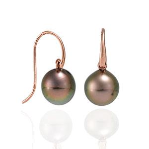 Pearl earrings. David Benn Fine Jewellery, Sydney, Australia.