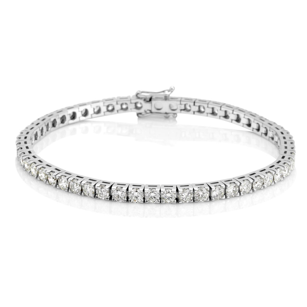 Diamond Tennis Bracelet. David Benn Fine Jewellery, Sydney, Australia.
