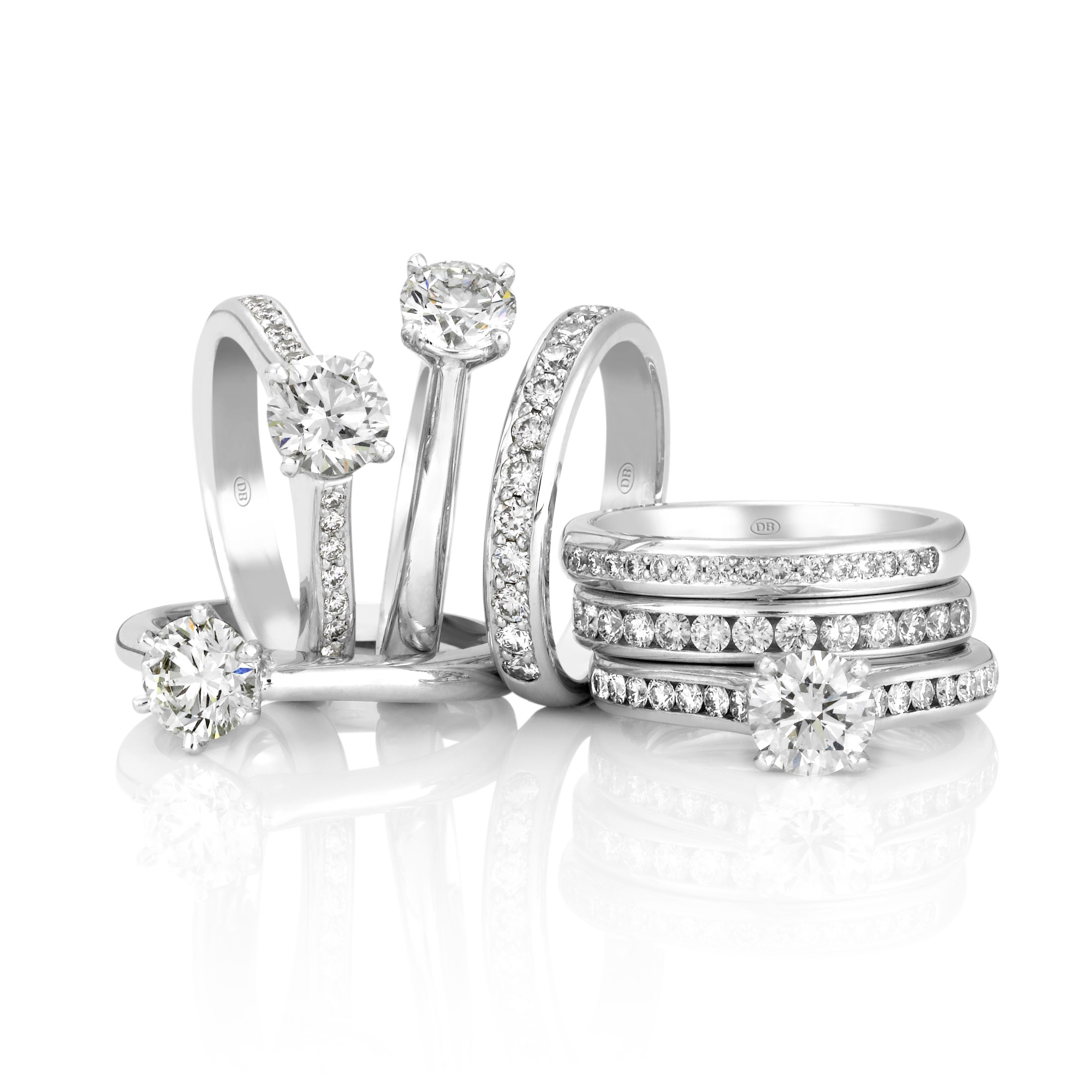 Engagement rings. Diamond rings. Wedding bands. Eternity rings. David Benn Fine Jewellery, Sydney, Australia.